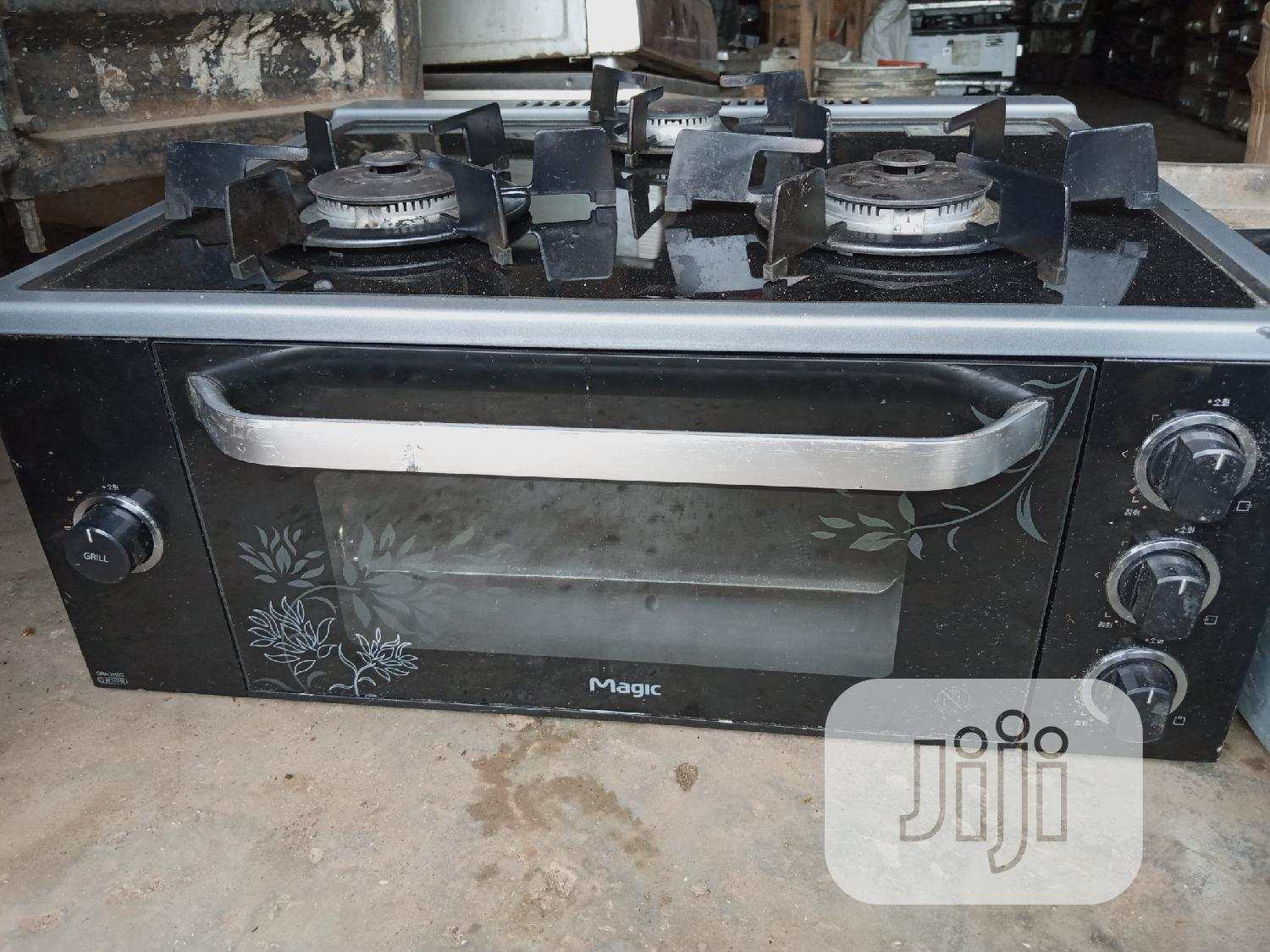 3 Bunner Table Gass Cooker With Grill And Oven | Kitchen Appliances for sale in Lekki Phase 2, Lagos State, Nigeria