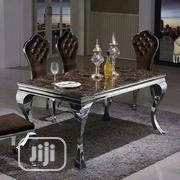 Royal Marble Dining Table by 6 Sitters | Furniture for sale in Lagos State, Ojo