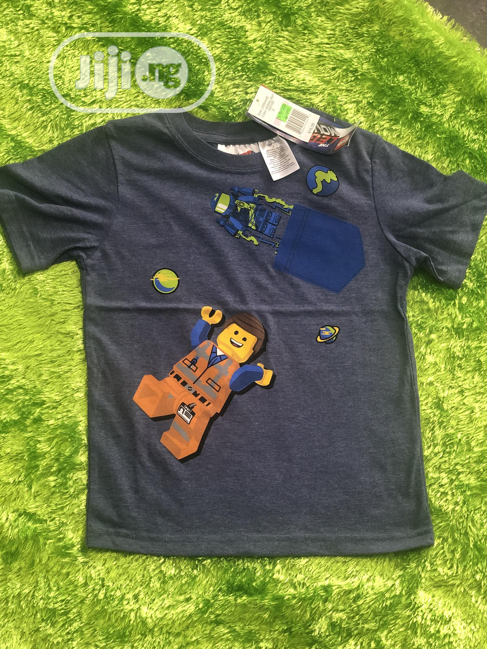 Lego Boys T.Shirt | Children's Clothing for sale in Alimosho, Lagos State, Nigeria