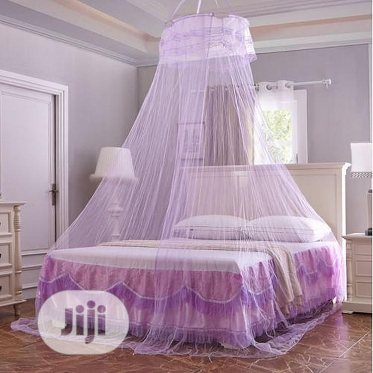 Double Bed Mosquito Repellent Tent Mosquito Net - Purple