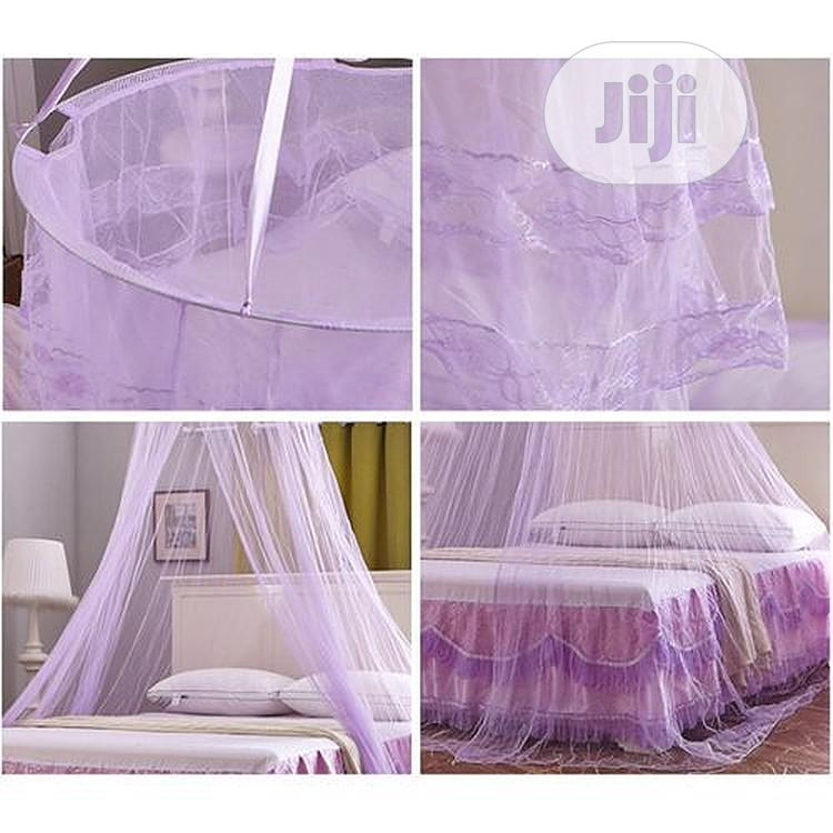 Double Bed Mosquito Repellent Tent Mosquito Net - Purple | Home Accessories for sale in Lagos Island, Lagos State, Nigeria