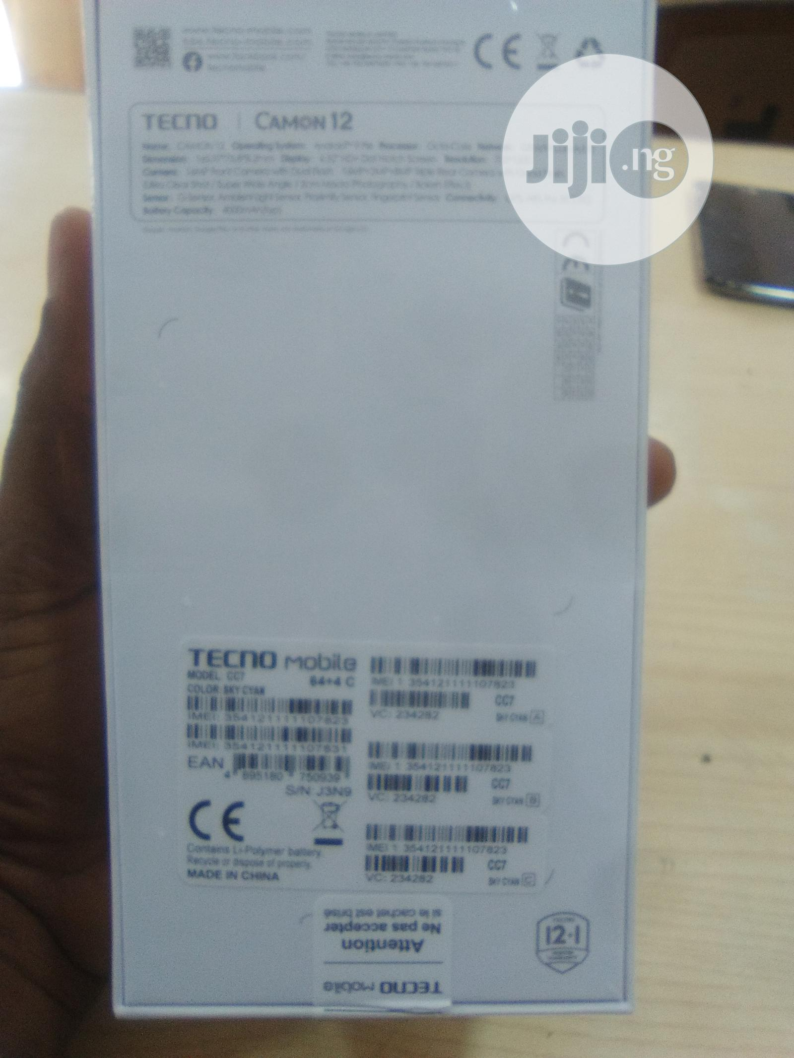 New Tecno Camon 12 64 GB | Mobile Phones for sale in Ikeja, Lagos State, Nigeria