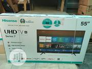 Hisense 55inches Smart Tv 4K Series 7 | TV & DVD Equipment for sale in Lagos State, Ojo