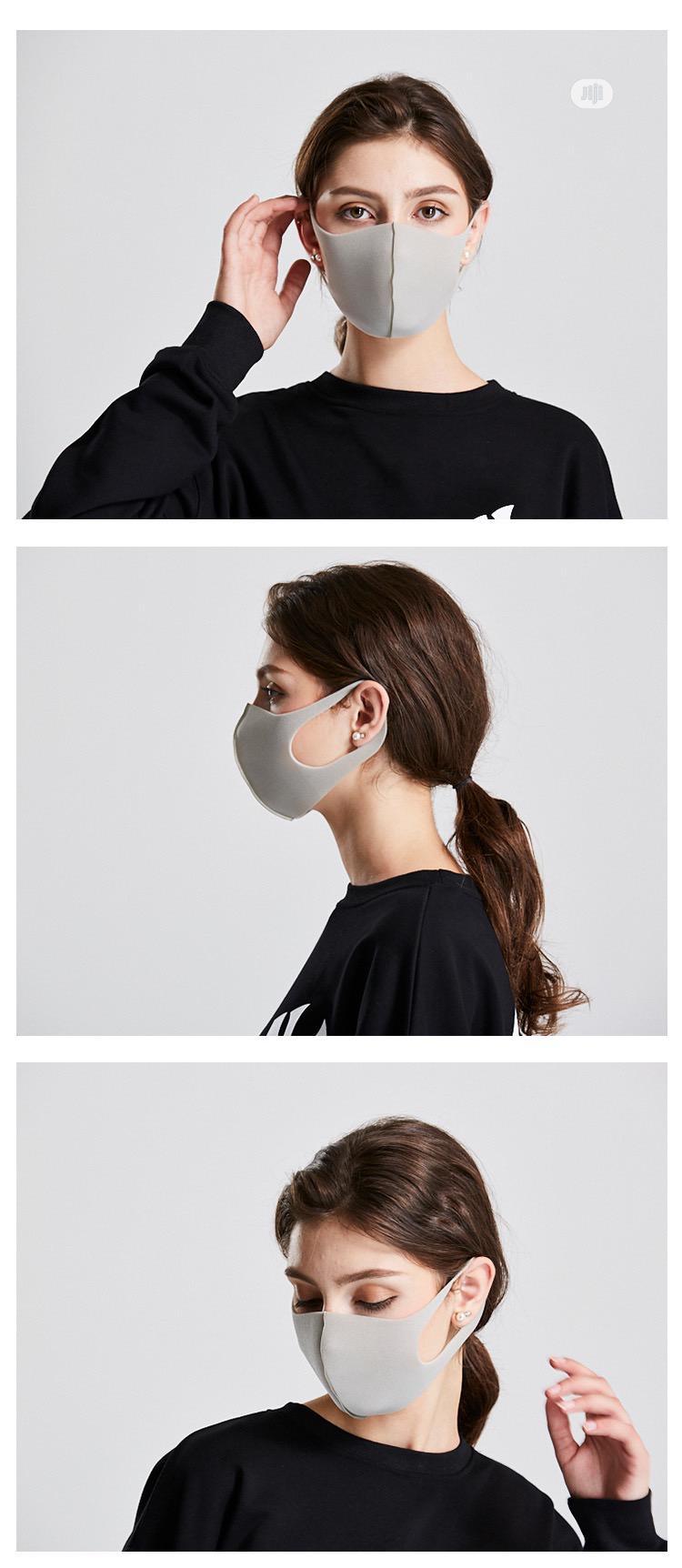 Washable Mask Black Sponge Mask | Safety Equipment for sale in Ikeja, Lagos State, Nigeria