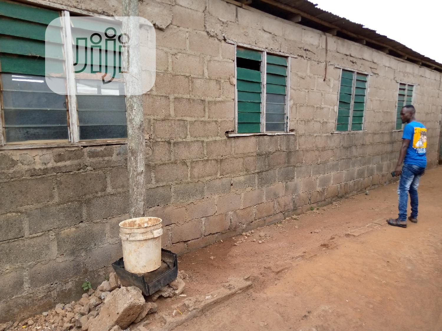 Land With Building On Top For Sale At Fagba Station Railway