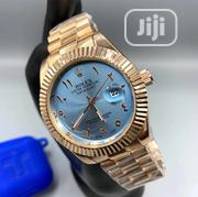 Gold Rolex Watch With Blue Dial | Watches for sale in Lagos State, Agboyi/Ketu