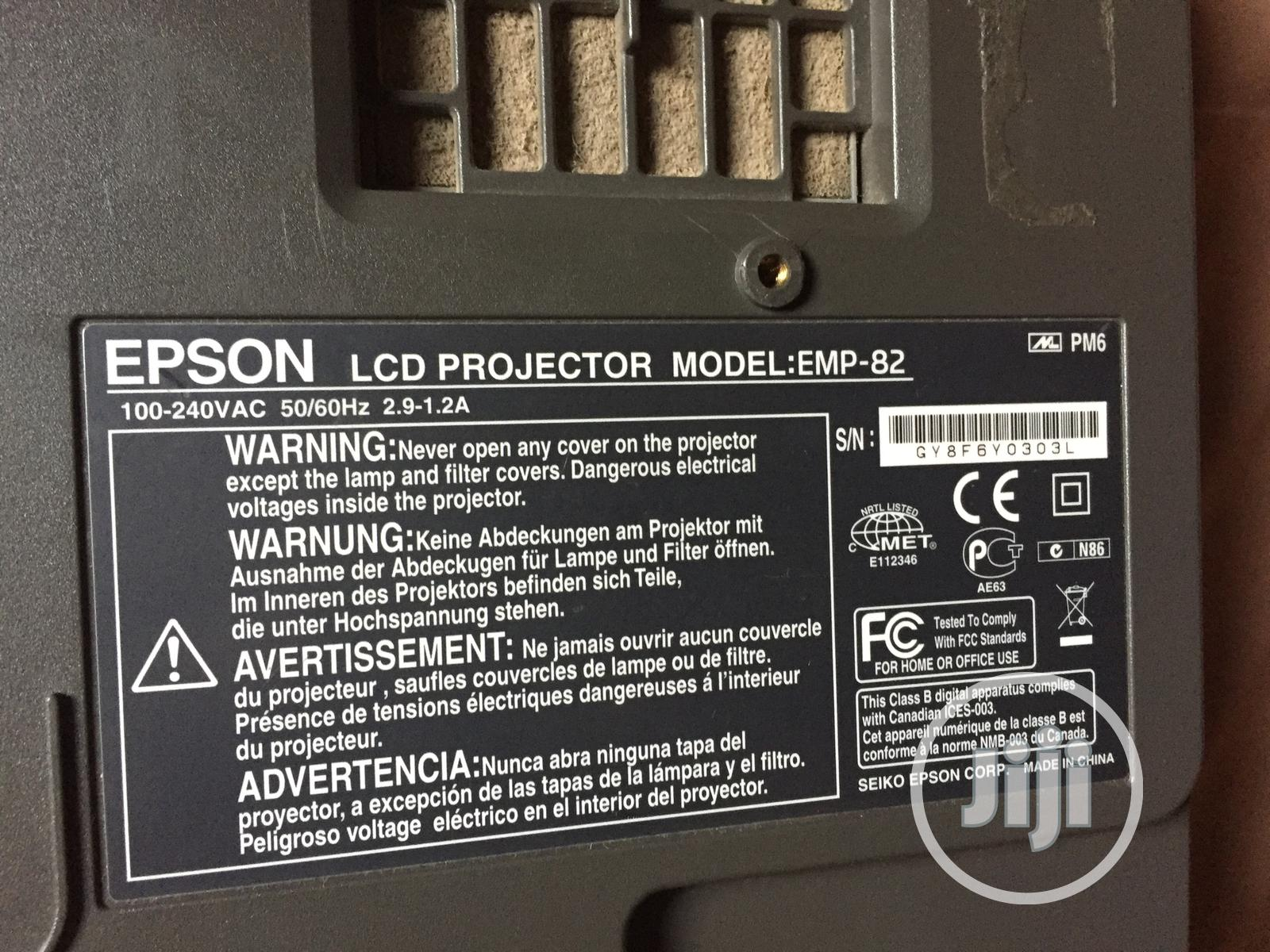 Epson Projector For Sale   TV & DVD Equipment for sale in Abeokuta South, Ogun State, Nigeria