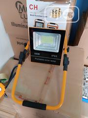 50w Portable Solar Flood Light With USB | Solar Energy for sale in Lagos State, Ojo