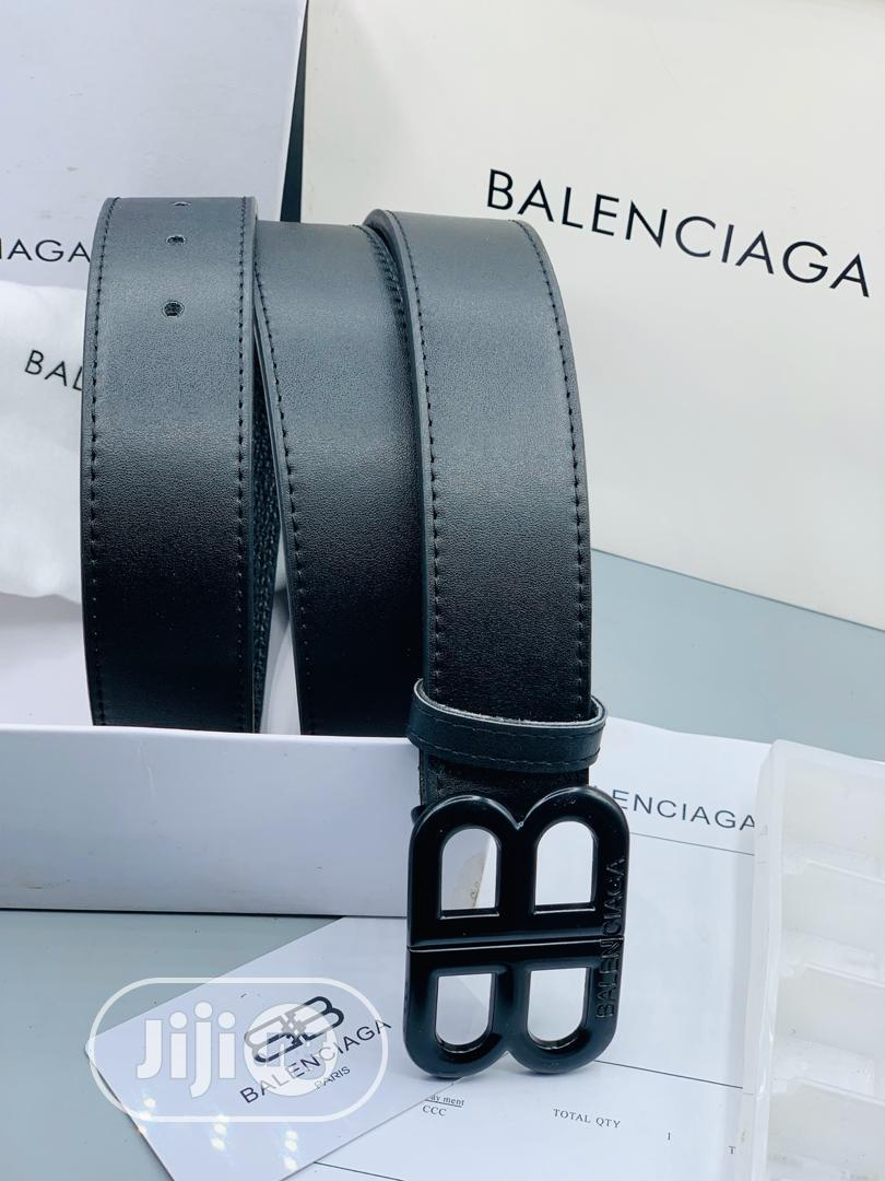 Balenciaga Leather Belt for Men's