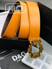 Dolce&Gabbana (D&G) Leather Belt For Men's | Clothing Accessories for sale in Lagos State, Lagos Island