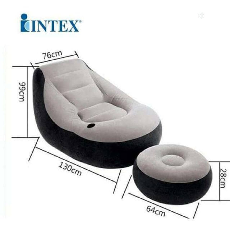 Archive: Intex Inflatable Ultra Lounge Relaxing Air Sofa Chair With Pump