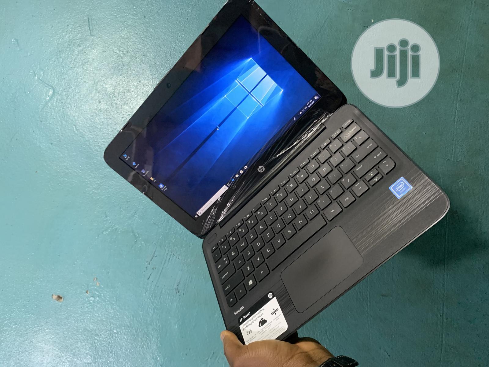 Laptop HP Stream 11 4GB Intel Celeron SSD 32GB | Laptops & Computers for sale in Ikeja, Lagos State, Nigeria
