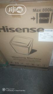 Hisense Washing Machine Automatic Front Loader 8kg | Home Appliances for sale in Lagos State, Ojo