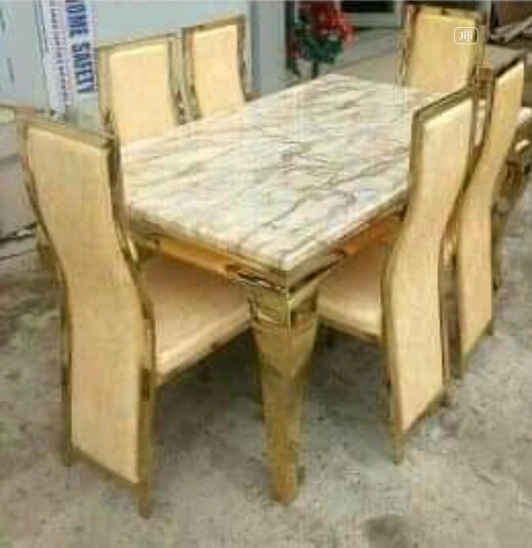 Dining Table Marble Glass In Ajah Furniture Christian Jiji Ng For Sale In Ajah Buy Furniture From Christian On Jiji Ng