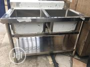 Industrial Sink Double | Restaurant & Catering Equipment for sale in Lagos State, Ojo