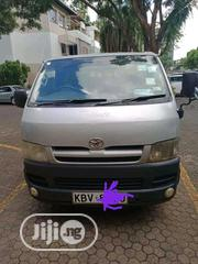 Clean Neat Nigeria Used Toyota Haice 2002 Silver | Buses & Microbuses for sale in Borno State, Chibok