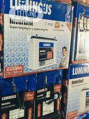 220ah 12v Luminuos Tubular Battery Available With 1yr Warranty | Solar Energy for sale in Lagos State, Ajah