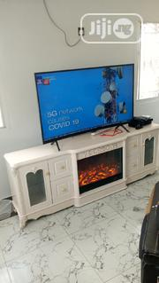 Quality Fire Place Tv Stand 2metre | Furniture for sale in Lagos State, Victoria Island