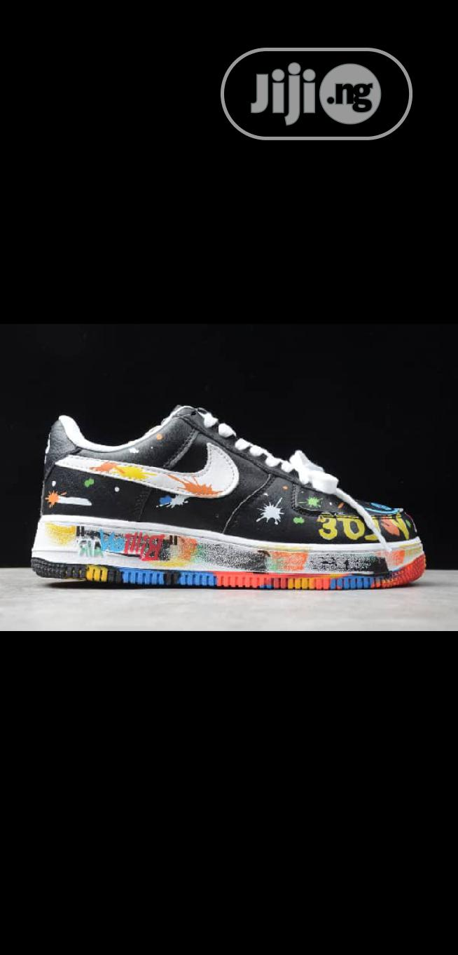 Archive: Peaceminusone × Nike Air Force 1 Low Sneakers