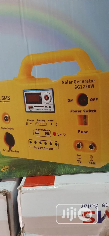 30w Solar Generator With Warranty