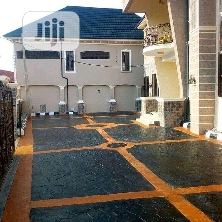 Concrete Floors With Design