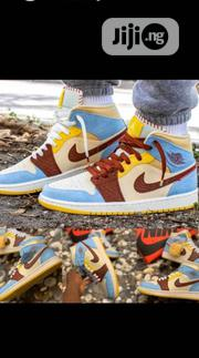 Air Jordan Maison Chateau Rouge X Air Jordan 1'fearless'sneakers | Shoes for sale in Lagos State, Lagos Island
