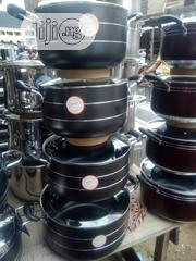 Original Hoffer Big Size Non-Stick Pots, 4 Set, 8 Pieces. | Kitchen & Dining for sale in Lagos State, Ojo