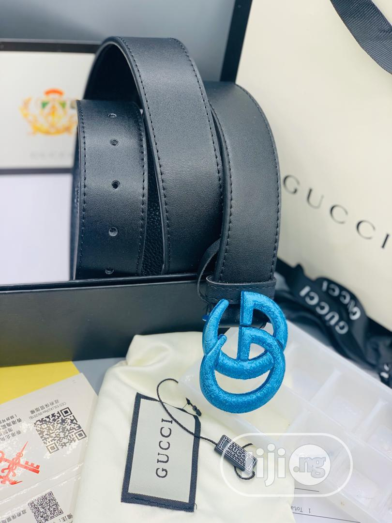 Original Gucci Leather Belt | Clothing Accessories for sale in Lagos Island, Lagos State, Nigeria