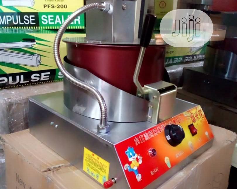Gas Popcorn Machine