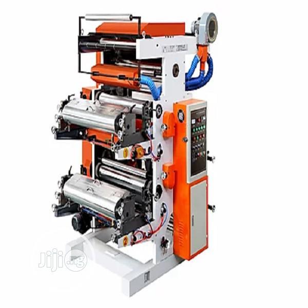 YT2100 Flexographic Printing Machine / 2 Color Flexo Printing Machine