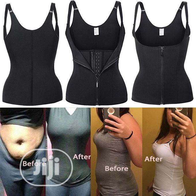 Tummy Control Shapewear Vest Adjustable Straps Body Slimmer