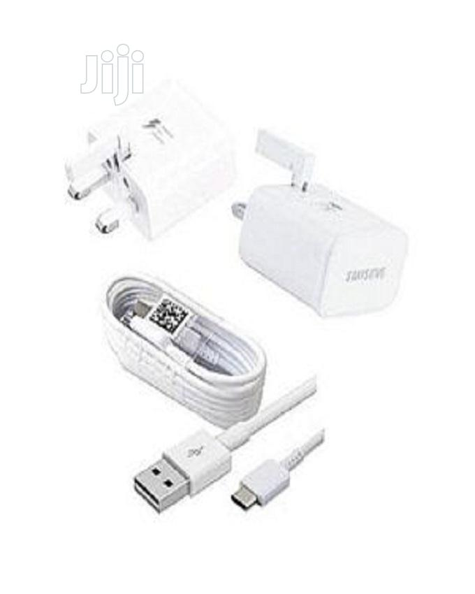 Samsung Galaxy S8 Fast Charge With Fast Adaptive Cable | Accessories for Mobile Phones & Tablets for sale in Amuwo-Odofin, Lagos State, Nigeria