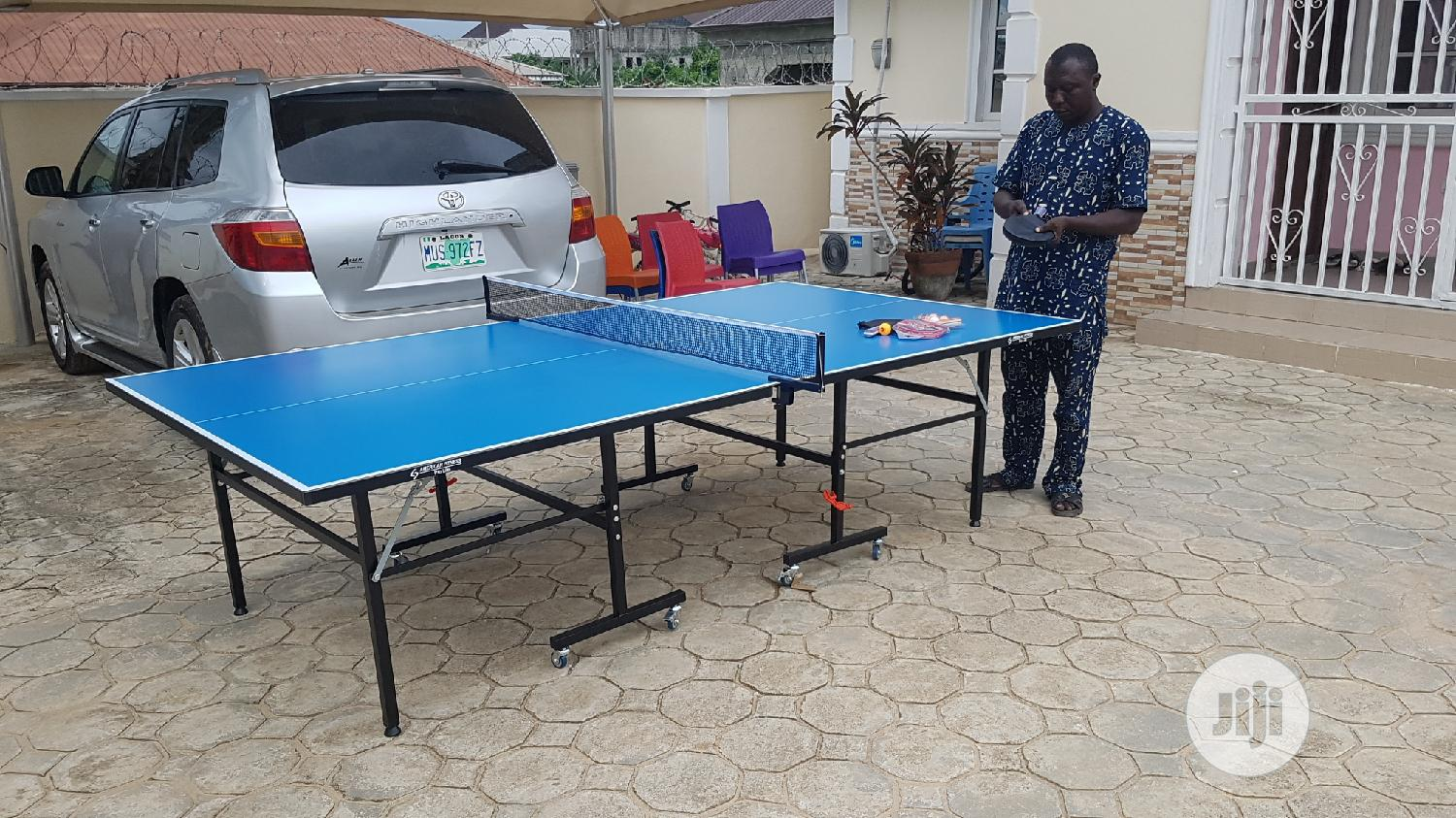 Pro Lite American Fitness Table Tennis Board With Accessories