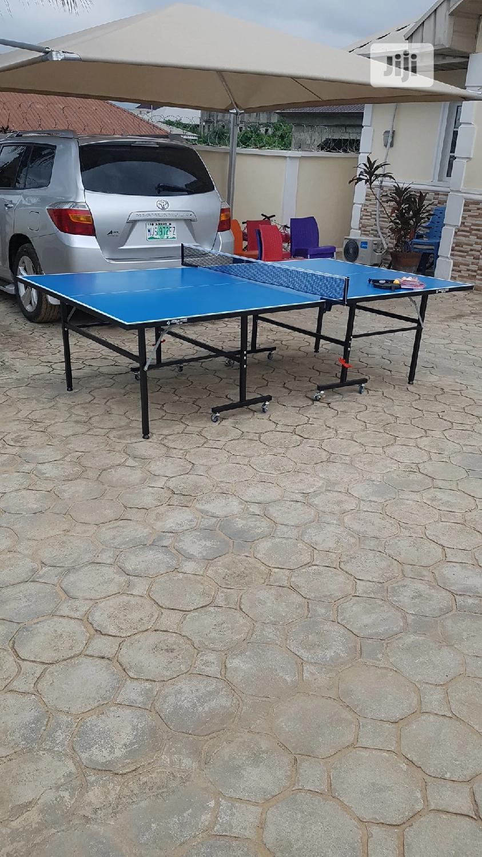 American Fitness Table Tennis Board Pro Lite