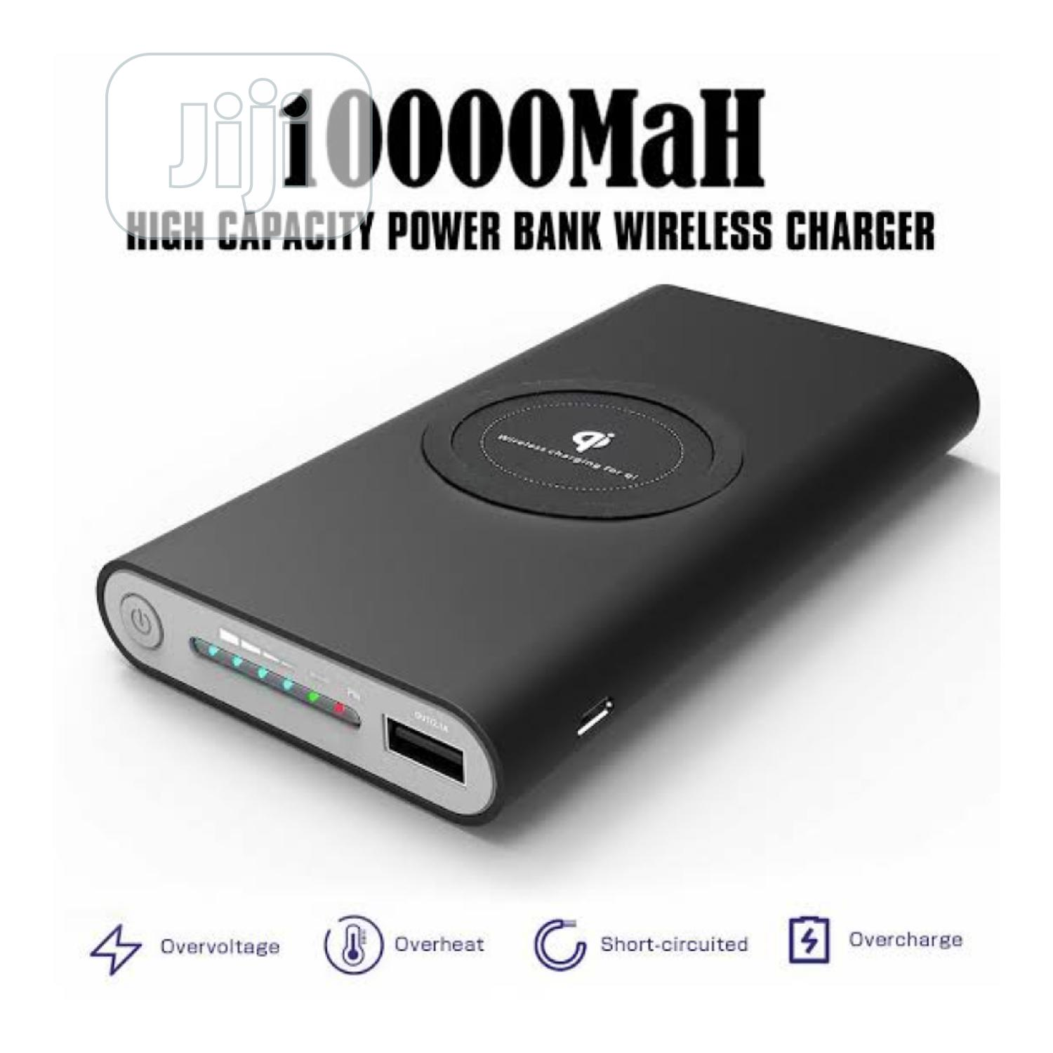 Wireless Tacha Charging Powerbank 10000mah | Accessories for Mobile Phones & Tablets for sale in Ikeja, Lagos State, Nigeria