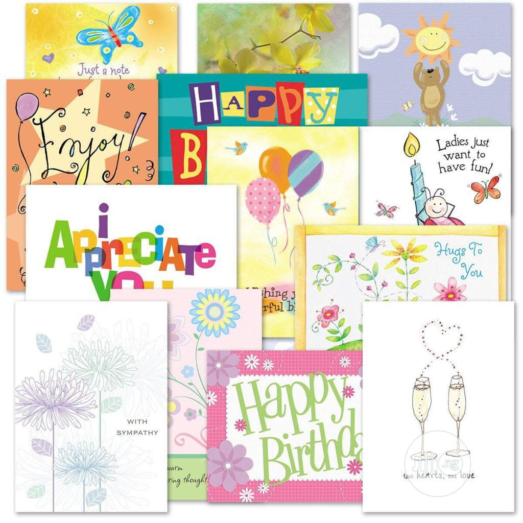 Assorted Birthday/ Greeting Cards