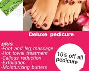 Deluxe Pedicure | Health & Beauty Services for sale in Lagos State, Ikeja