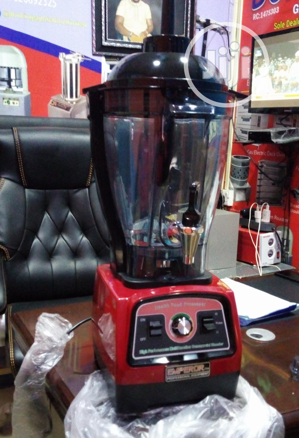 Industrial Blender 6 Litres With Tap