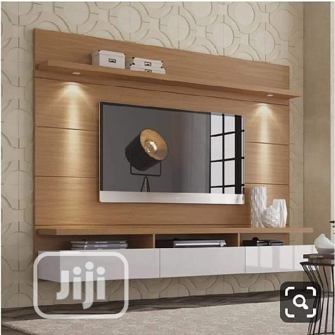 Well Finished TV Console | Furniture for sale in Enugu, Enugu State, Nigeria
