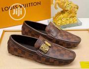 Louis VUITTON Draft Leather Loafers Classic Shoes | Shoes for sale in Lagos State, Lagos Island