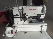 Button Hole Machine ( Two Lion)   Manufacturing Equipment for sale in Abuja (FCT) State, Jabi