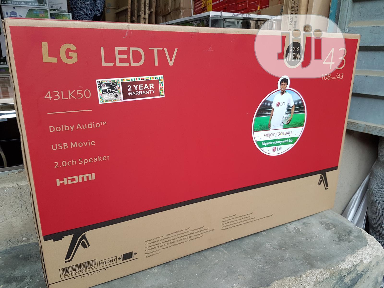 "43"" LG Television."