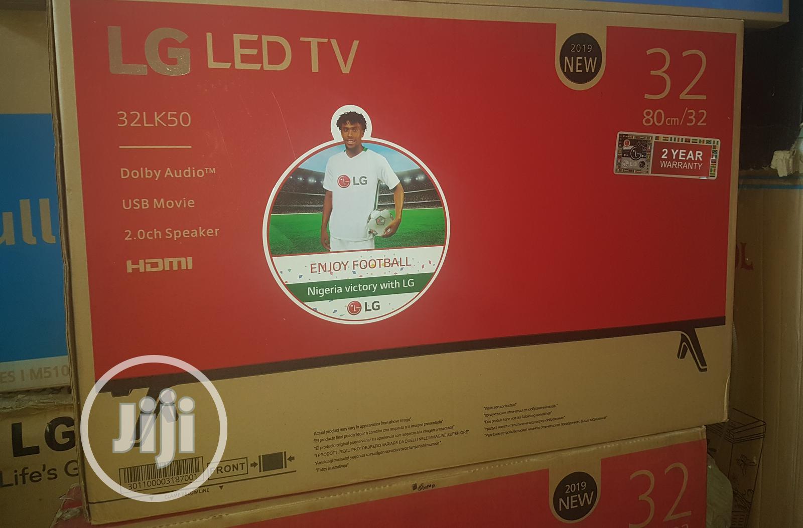 "32"" LG Television."