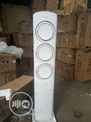 Brand New Samsung 5 Turn Floor Standing Ac With Warranty Also | Home Appliances for sale in Lagos State, Ojo