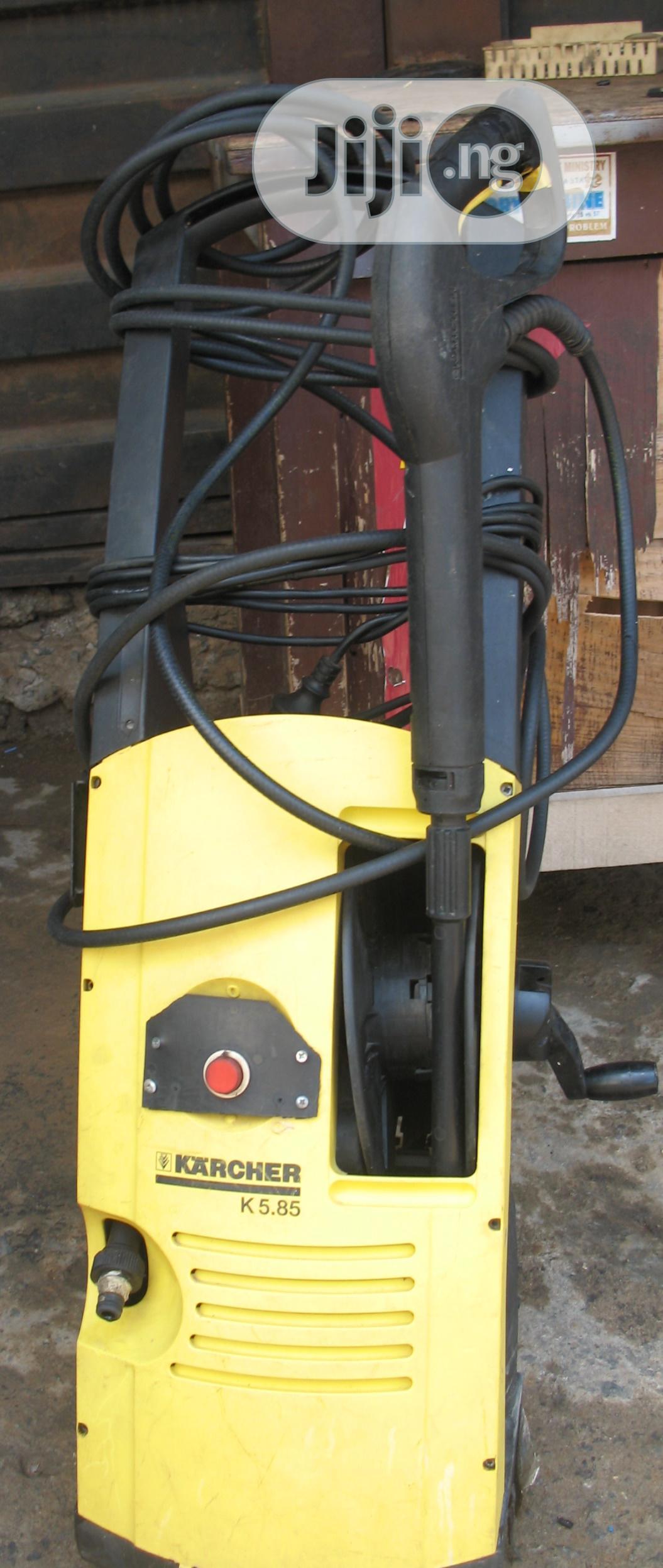 Karcher K5.85M Versatile High Pressure Washer For Private & Commercial