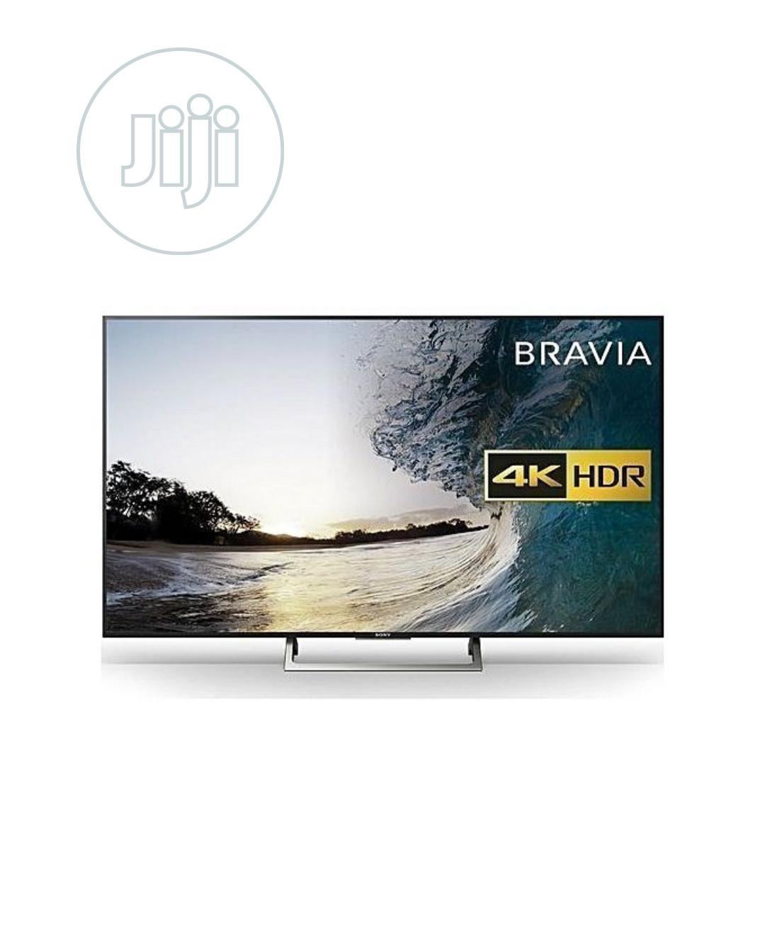 "Sony 55"" Uhd 4K Androind Smart Tv-55x8000 