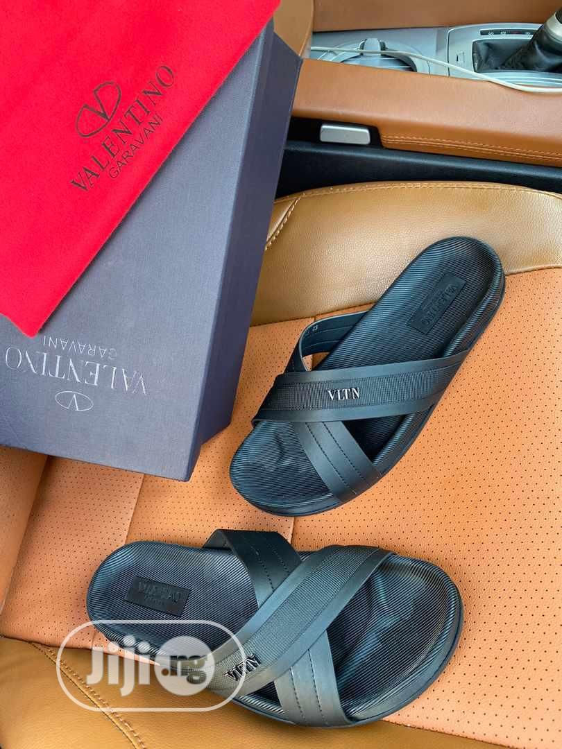 Valentino Palm Slipper for Men   Shoes for sale in Magodo, Lagos State, Nigeria