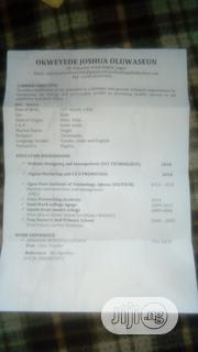 Web Designer CV | Computing & IT CVs for sale in Lagos State, Oshodi-Isolo