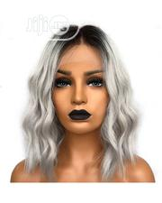 Cute Wavy Human Hair Wig With Frontal | Hair Beauty for sale in Lagos State, Ikeja