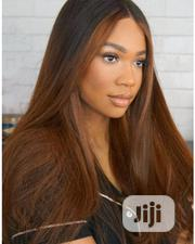 High Quality Straight Human Hair Wig With Closure | Hair Beauty for sale in Lagos State, Ikeja